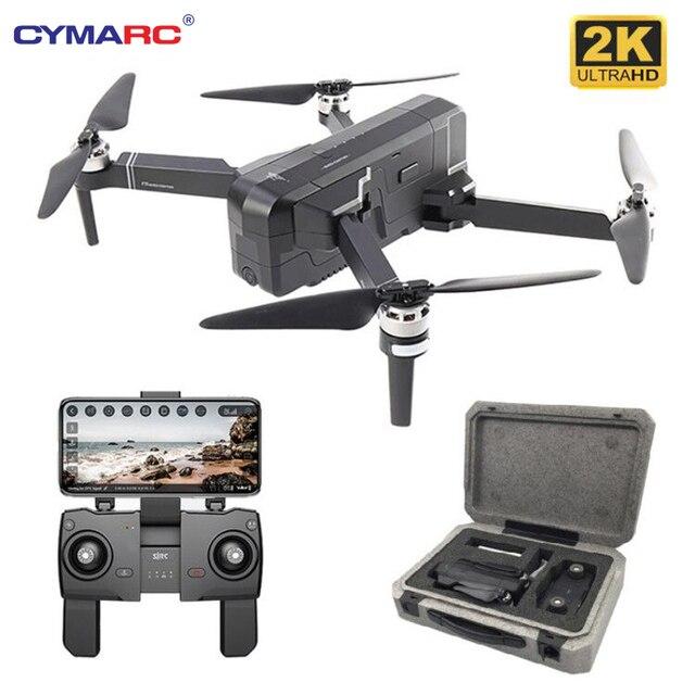 SJRC F11 PRO GPS Drone z kamerą 2KHD Wi Fi FPV, vs SG906, składany dron, bezszczotkowym quadkopterem F11 1080P, czas lotu 25 minut