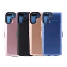 For Huawei Honor 10 6000mAh Capacity Battery Charger Case Extended Battery Backup Power Protective Cover Anti-Scratch Back Case