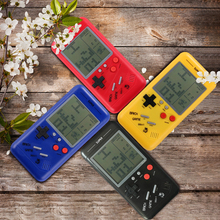 Toys Game-Console Electronic-Games Retro Handheld Players Educational-Toys Tetris Riddle