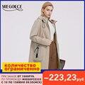 MIEGOFCE 2021 новая весенняя коллекция женское пальто куртка ветрозащитная с капюшоном женская ветровка с двусторонним слайдером и боковая молн...