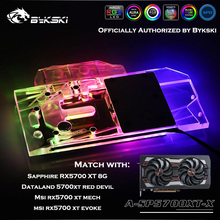 Water-Block Bykski Sapphire A-SP5700XT-X Dataland Mech/evoke-Graphics-Card GPU for 8G
