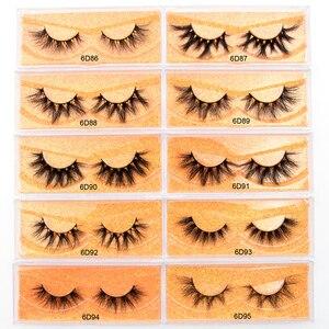 Image 5 - Visofree  Eyelashes 3D Mink Lashes natural handmade lashes long soft false eyelashes High Volume Cruelty Free  Mink lashes D101