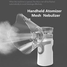 цена на Medical Inhalator Ultrasonic Inhaler Nebulizer Portable Mesh Nebulizer Machine for kids Adult Atomizer Nebulizador Nebulizzatore