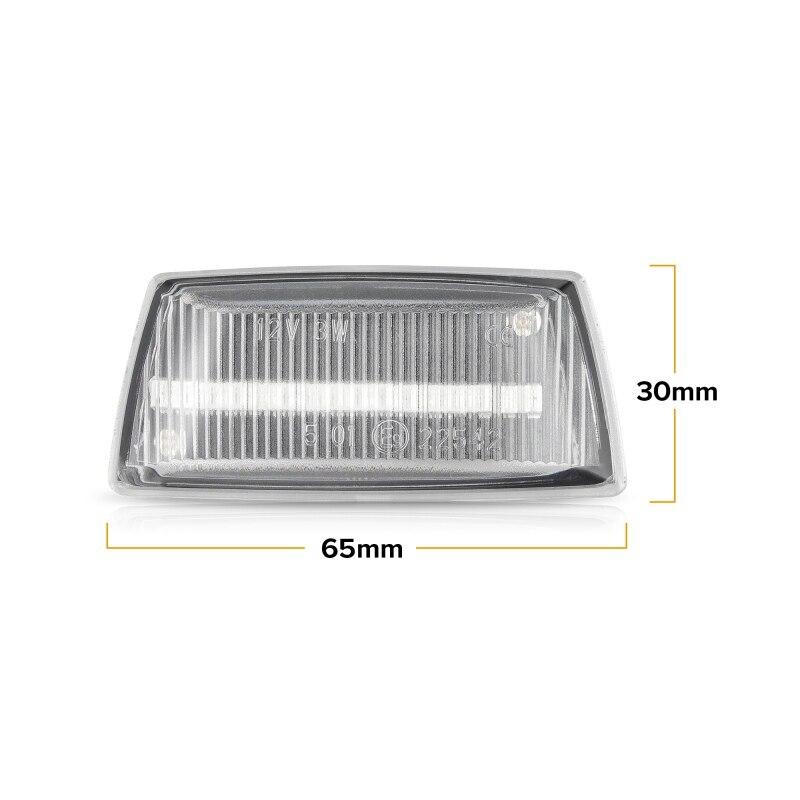 Led Dynamic Side Marker Turn Signal Light For Opel Insignia Astra H Zafira B Cor