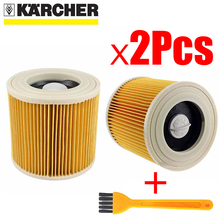 AIR-DUST-FILTERS Wd3 Karcher Parts Vacuum-Cleaners for Cartridge Wd2250/Wd3.200/Mv2/Mv3