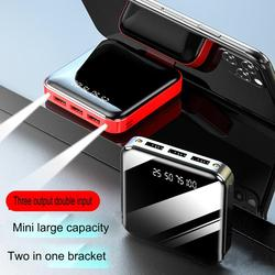 10000 mAh New Charging Treasure with Stand 2a Mobile Power Wireless Charging with Stand Portable Wireless Charging Bin
