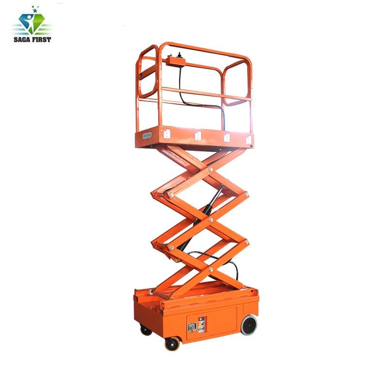 3m 3.9m Mobile Electric Mini Scissor Lift Platform Scissor Lift