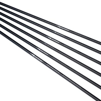 12pcs Linkboy Archery Pure Carbon Arrows ID6.2MM Spine 300 340 400 500 31inch 4inch Turkey Feather Compound Bow Hunting 3