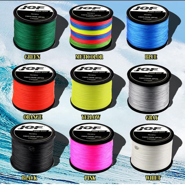 Awesome 8 Strands Braided Fishing Line Fishing Lines cb5feb1b7314637725a2e7: Black|Blue|Gray|Green|Multicolor|Orange|Yellow