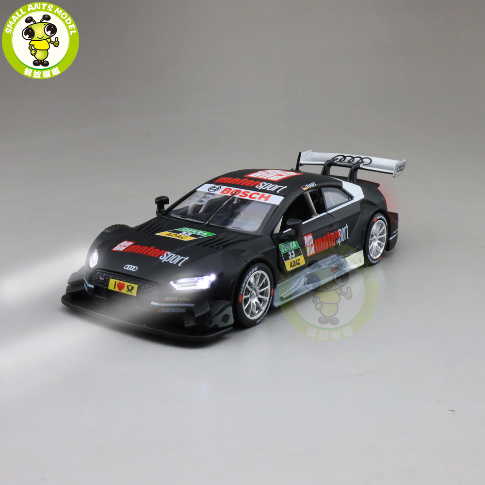 1/32 Audi S5 DTM Racing Car Diecast SUV Car Model Toys kids Pull Back gifts image