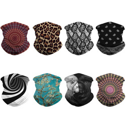 Unisex Face Cover Scarf Washable Rave Bandana Neck Gaiter Tube Headwear For Women Men Dustproof Face Scarf