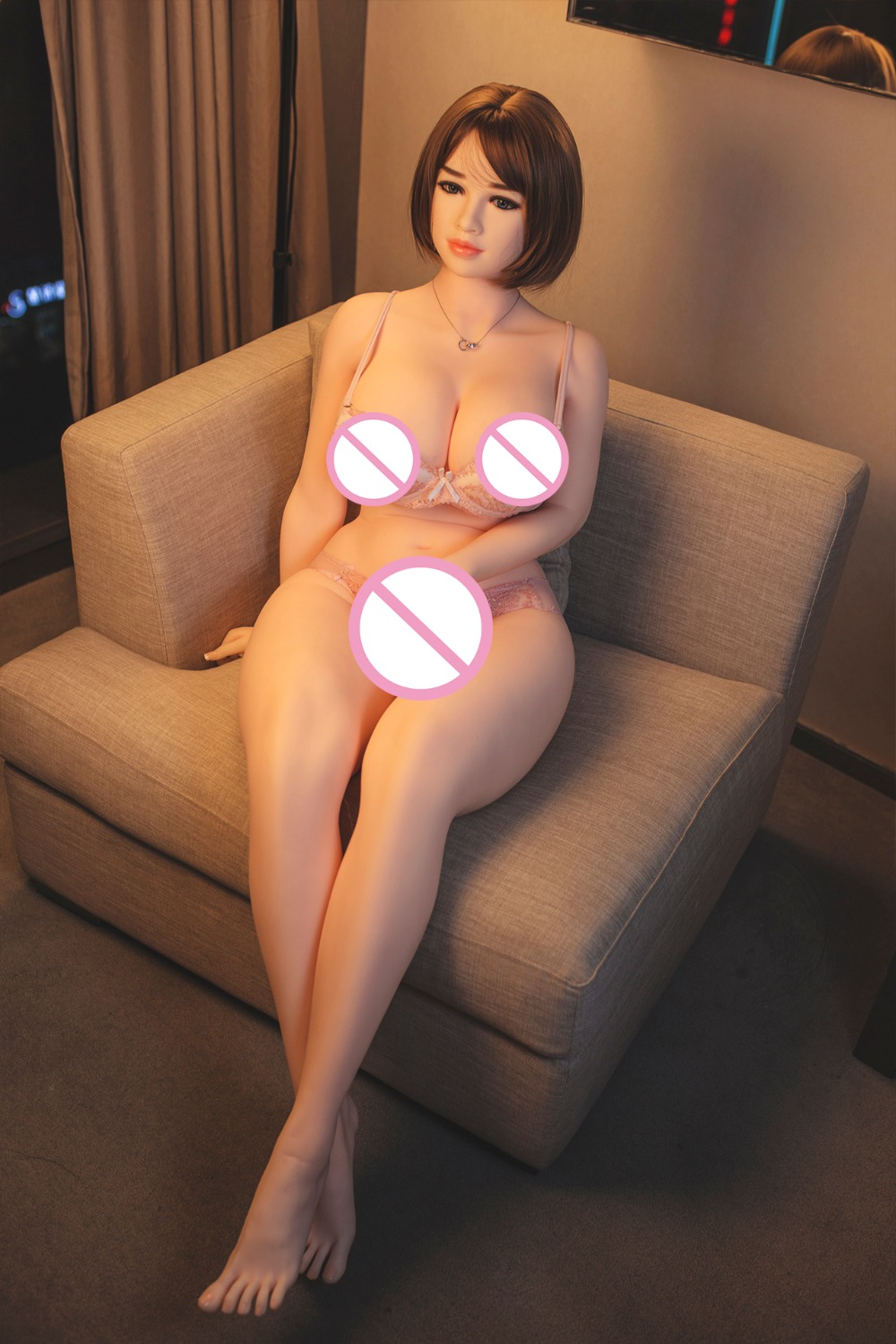 Hanidoll 162cm silicone sex dolls TPE big ass love doll Realistic vagina big breast sex toys for man white skin