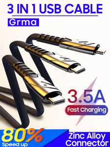 3 in 1 usb cable(China)