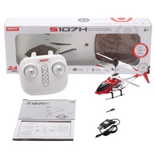Syma S107H 3.5H Mini Helicopter Gyro Metal 2.4G Radio RC Remote Control Altitude Hold RC Drone for Toy Gift