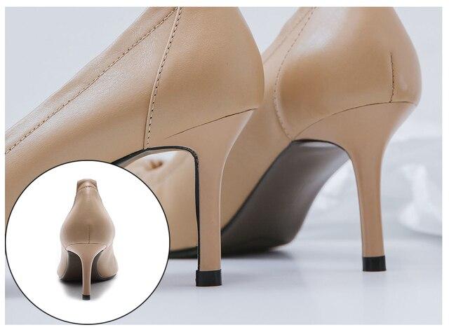 Sophitina/офисные женские туфли лодочки удобная обувь без шнуровки