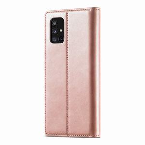 Image 4 - Luxury For Samsung Galaxy A51 Case Flip Wallet Magnetic Cover For Samsung A71 4G M40S M70S Case Leather + Matte TPU Back Cover