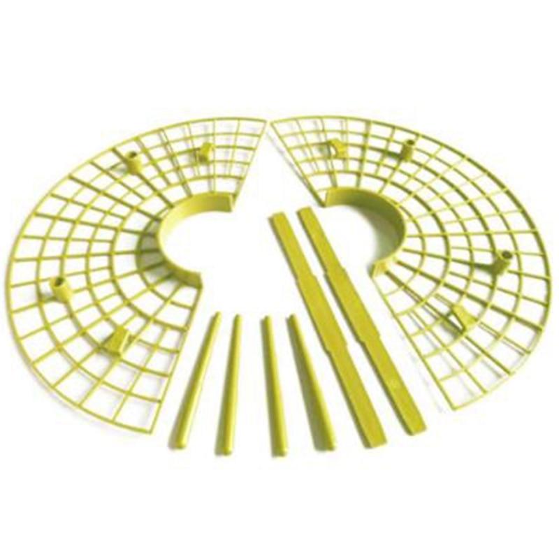 10Pcs/Set Plant Plastic Tool Strawberry Growing Circle Support Rack Farming Frame Gardening Vine