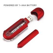 Mini USB Flash MP3 Người Chơi Màn Hình LCD Hỗ Trợ Đèn Flash 32GB Thẻ TF Khe Cắm Kỹ Thuật Số Mp3 Nghe Nhạc FM đài Phát Thanh