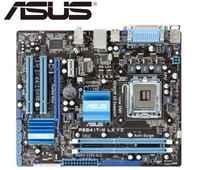 Asus P5G41T-M lx v2 placa-mãe de mesa para intel ddr3 lga 775 usb2.0 vga sata ii 8 gb g41 usado desktop placa-mãe pc