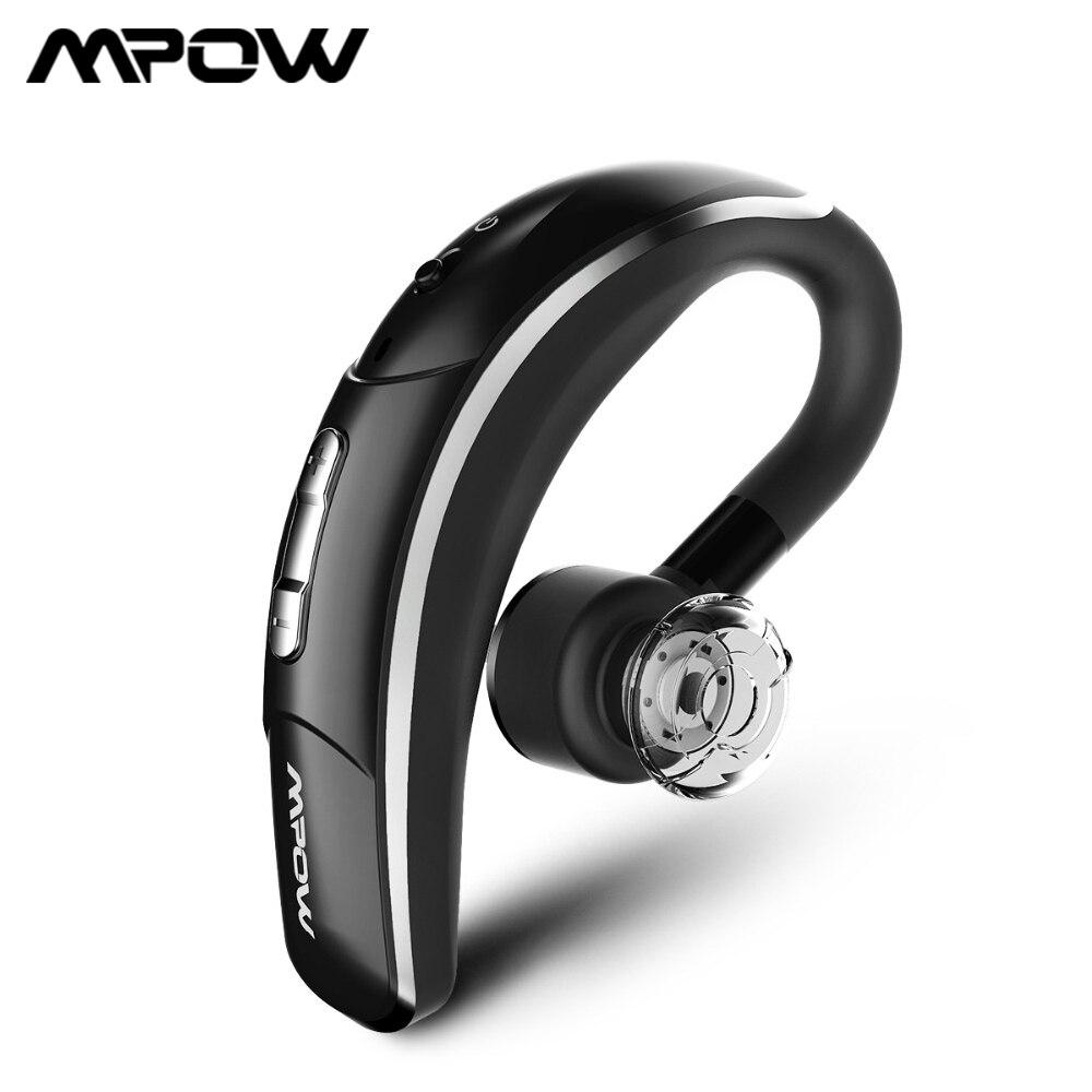 Mpow Business Stil Drahtlose Kopfhörer Auto Freisprechen Bluetooth Hörer Mit Kristall Klaren Mic Für iPhone Samsung Huawei