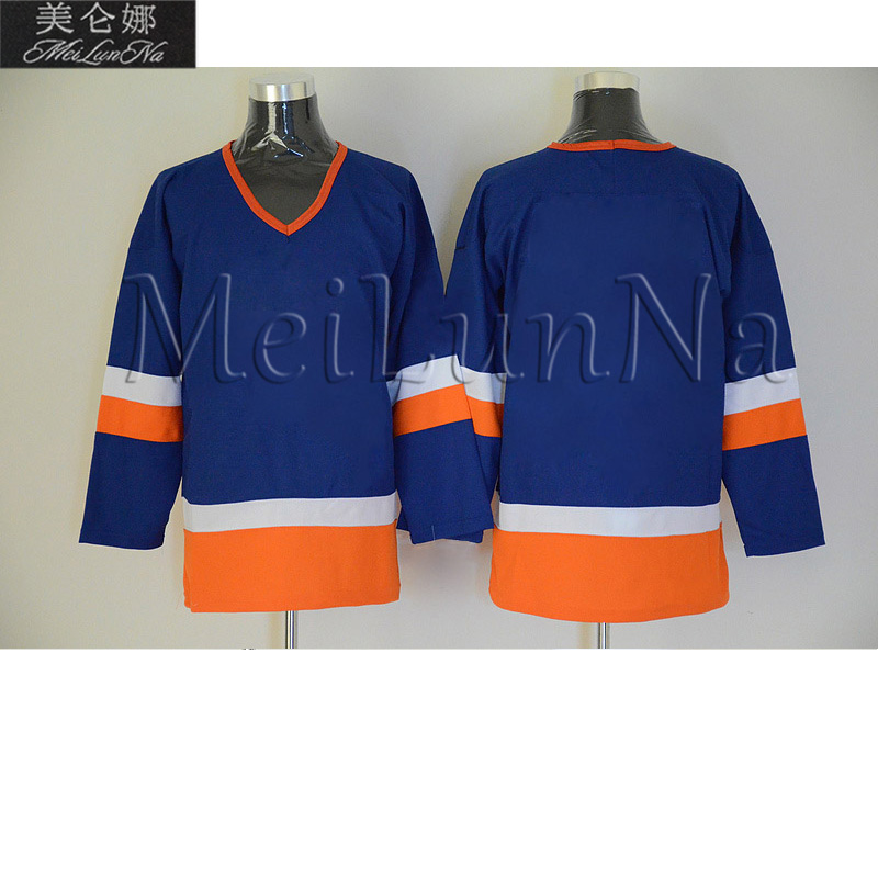 John Tavares Mike Bossy Pat LaFontaine Denis Potvin Clark Gillies Bryan Trottier Billy Smith New York Retro Hockey Jerseys
