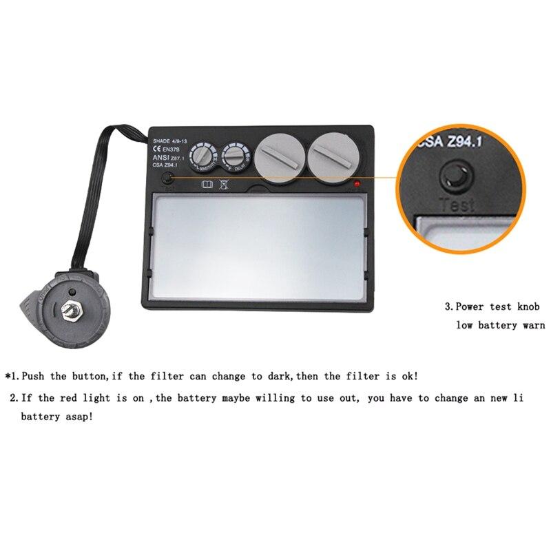 Hlzs-solar automatyczne przyciemnianie filtr szlifierski maska do spawania/kask/czapka spawacza/soczewka spawalnicza/maska z oczami do spawarki/cięcia plazmowego T