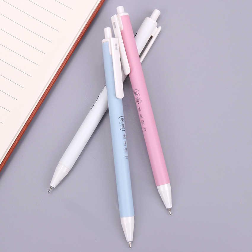 0.7 مللي متر الأزرق عبوة قلم البلاستيك الصحافة أقلام الكتابة اللوازم المكتبية طالب امتحان الغيار للجنسين OG-5973 1 قطعة