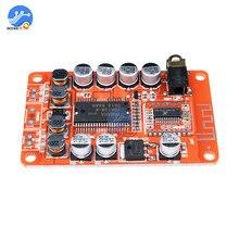 Placa Amplificador Digital Classe D 2 YDA138 Bluetooth * 15 W Stereo HIFI Placa De Som De Áudio Controle de Volume Speaker AMP placa 2x15 W