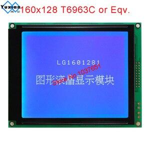 Image 5 - โมดูล LCD 160X128 160128 หน้าจอสีฟ้า T6963C LG1601281BMDWH6V ใช้งานร่วมกับ WG160128E