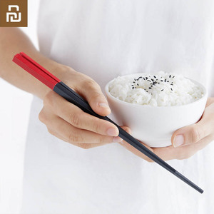 Image 4 - Mijia Youpin Yiwuyishen Rainbow Meal Alloy Chopsticks 5 Pair Stylish Beautiful New Materials Eliminate Mold Household Chopsticks