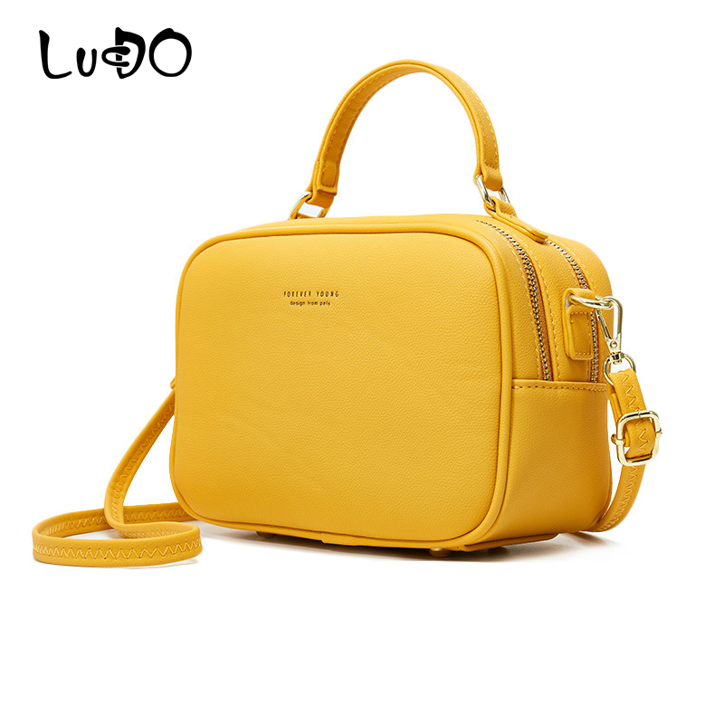 LUCDO Fashion Luxury Handbags And Purses Women Bags Designer Leather Crossbody Bags For Women New Tote Bags Ladies Shoulder Bag