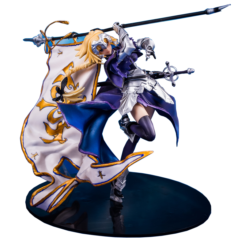 Free Shipping Fate Stay Night Banner Of Freedom Joan Of Arc Saber Saintly-woman GK Statue PVC Action Figure Model Xmas Toy B19