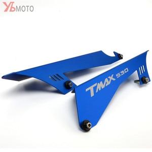 Image 3 - CNCรถจักรยานยนต์อุปกรณ์เสริมCHAIN GUARDเข็มขัดสำหรับYAMAHA TMAX530 TMAX 530 SX DX T MAX 2017 2018 2019