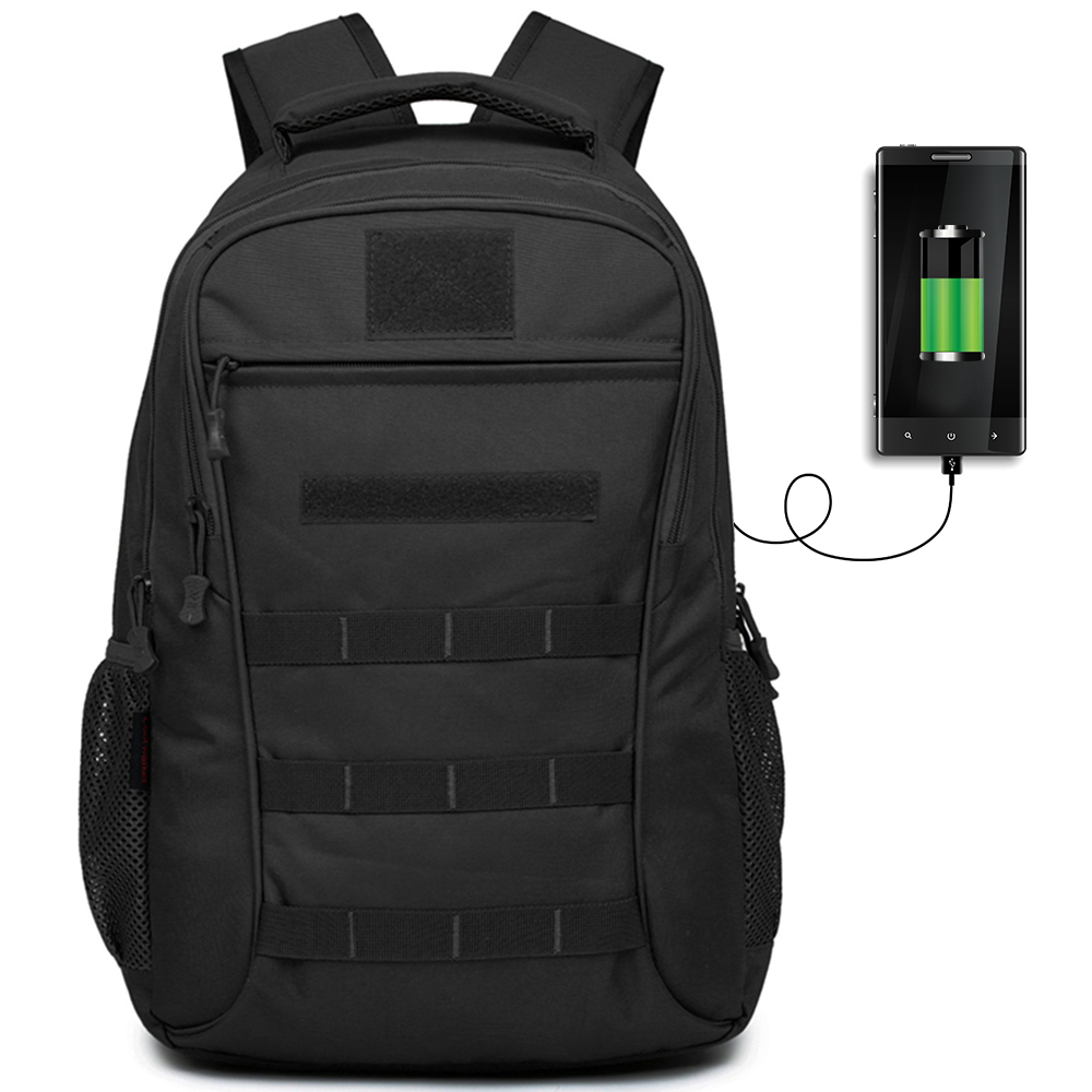 USB Charging 50L Outdoor Tactical Backpack Sport Military Bag Climbing Mountaineering Laptop Backpack Camping Hiking Rucksack