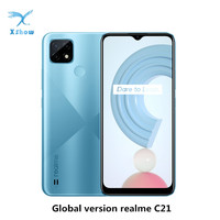 "Realme C21 Global Version Smartphone Helio G35 Octa Core 3GB/4GB RAM 32GB/64GB ROM 6.5""display 5000mAh Large battery 3-Card Slot 1"