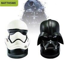 цена на Bluetooth Speaker Star Wars Speaker Portable Mini BT Speaker Black Warrior White Soldier Bluetooth Speaker with TF Card