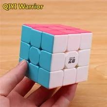 Cubes-Toys Puzzle Magic-Cube Learning Qiyi Warrior Antistress Stickerless-Speed 3x3x3
