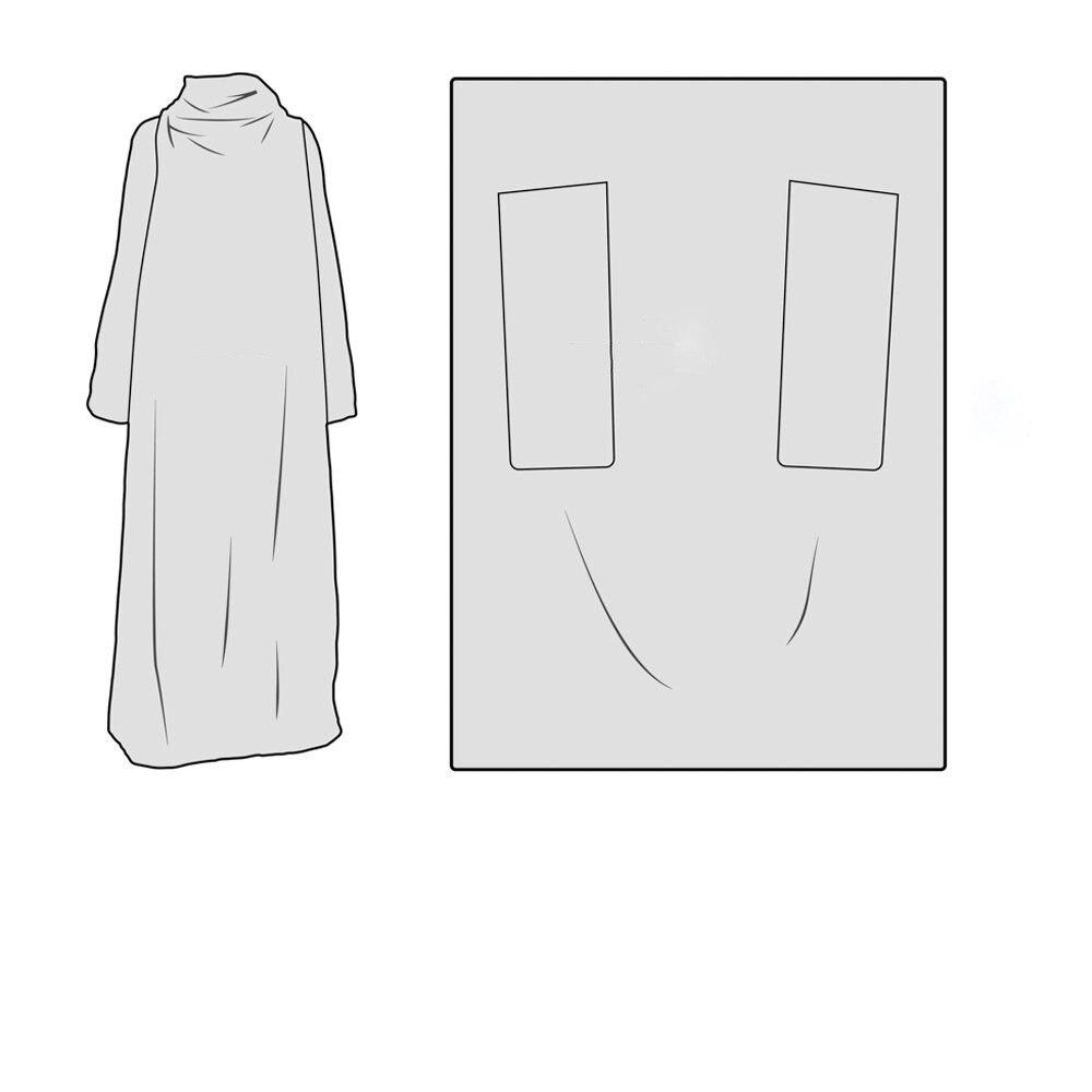 Рождественское Фланелевое теплое многоразовое мягкое многофункциональное декоративное одеяло, легко чистится, быстросохнущее, с принтом, ... - 2