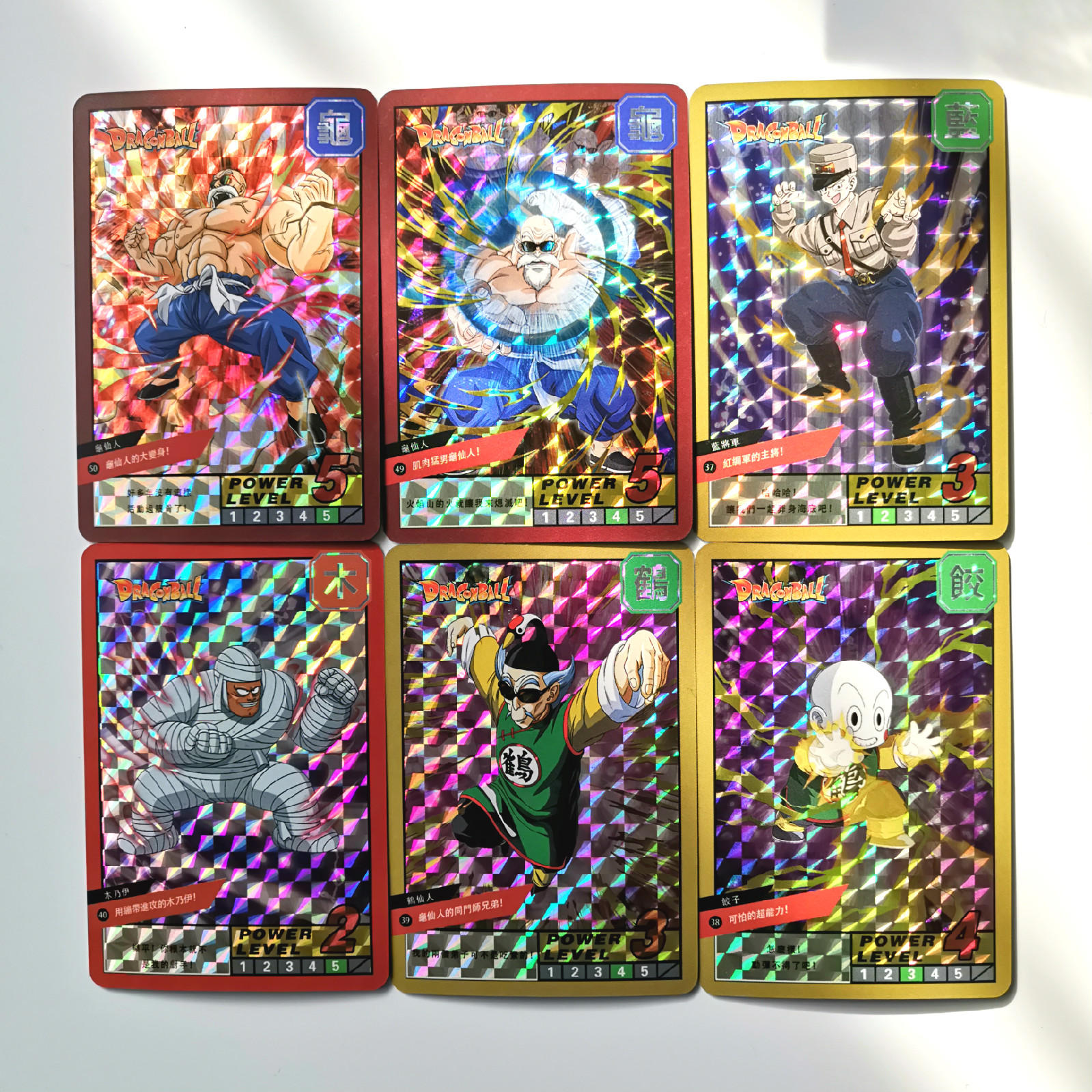 19pcs/set Super Dragon Ball Z Burst Six Heroes Battle Card Ultra Instinct Goku Vegeta Game Collection Cards