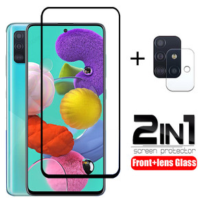 tempered glass for samsung A51 A71 A50 A30 a 51 a31 a21s glass camera lens screen protective for samsung galaxy A71 A51 glass