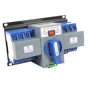 63A 4P CB Level Dual Power Automatic Transfer Switch Mini Dual Power Generator Changeover Switch 50HZ/60HZ
