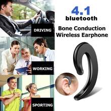 Wireless Headphone bluetooth 4.2 Sports Earphone Bone Conduction Earphone Ear Hook Painless Headset For iPhone/Xiaomi/Samsung(China)