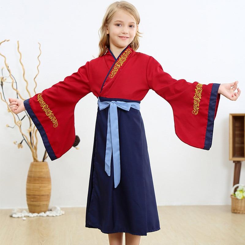 2020 Hero Mulan Cosplay Costumes Child Girls Fancy Dress Chinese Hua Mulan Cosplay Costume Halloween Cosplay Costume Girls Costumes Aliexpress
