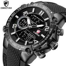 New CHEETAH Athletic Style Mens Quartz Watch Sport Business Man Clock Alarm Waterproof Military Men Watches Relogio Masculino
