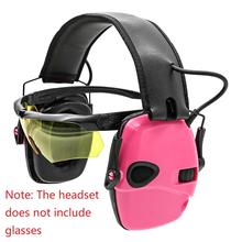 Shooting Headset Protective-Earmuffs Hearing-Protection Noise-Reduction Electronic Outdoor