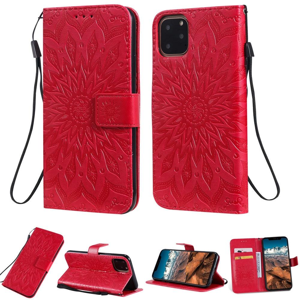 Luxury Flower Wallet Flip Case for iPhone 11/11 Pro/11 Pro Max 9