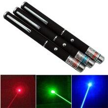1Pcs 5MW High Power Lazer Pointer 650Nm 532Nm 405Nm Rot Blau Grün Laser Anblick Licht Stift Leistungsstarke Laser stift Pet spielzeug Katze spielzeug