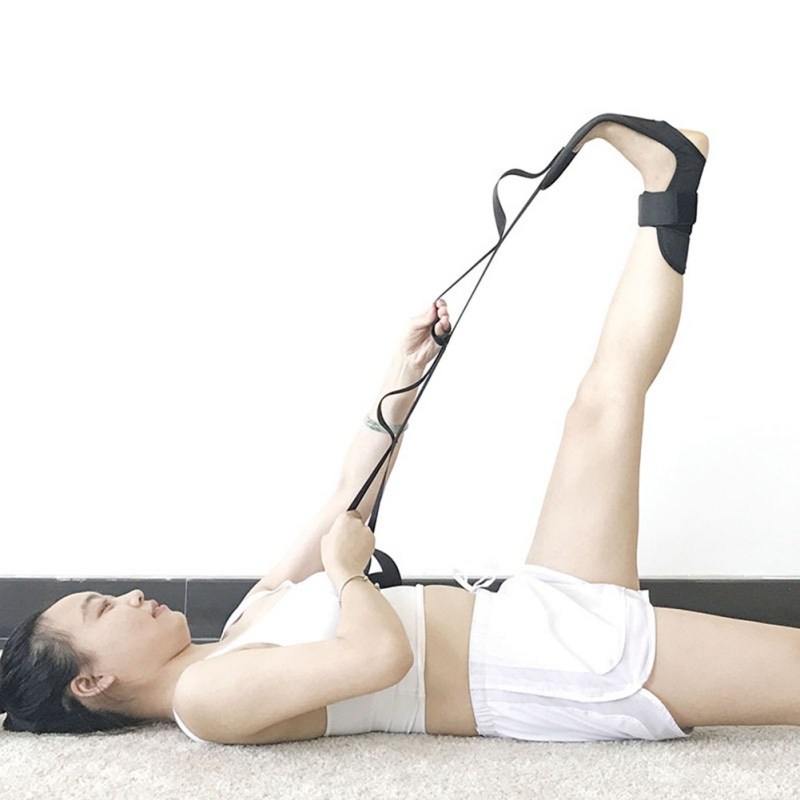 Yoga Ligament Stretching Belt Foot Rehabilitation Strap Plantar Fasciitis Leg Training Foot Ankle Joint Correction Braces