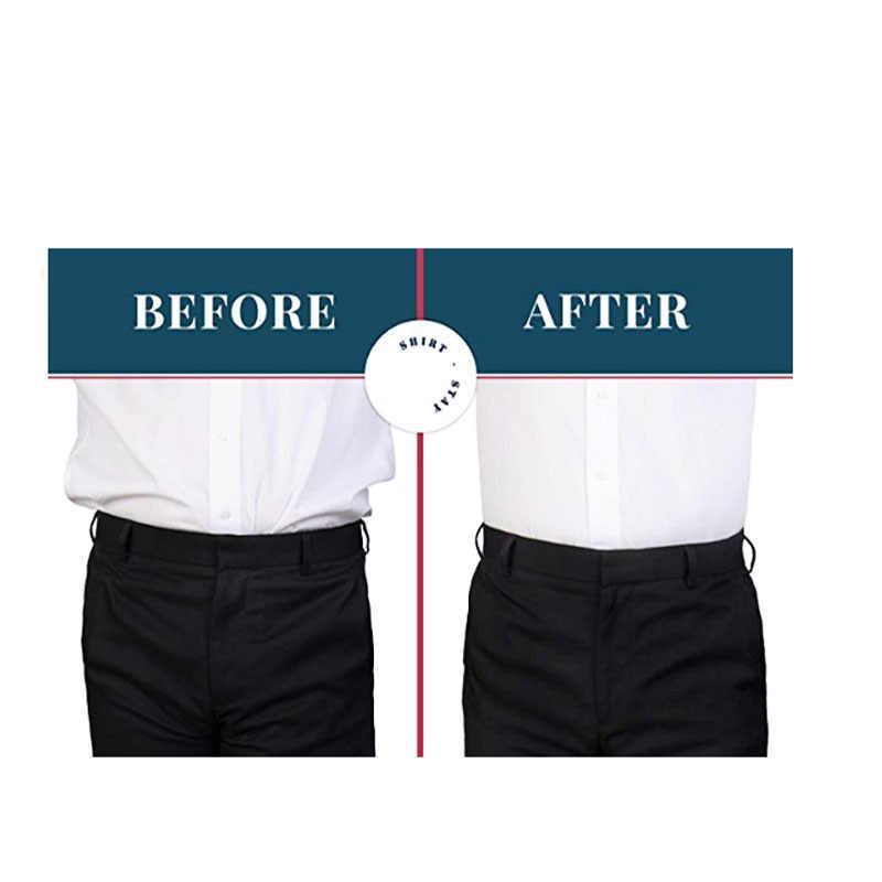 Для мужчин и женщин держатель рубашка-отдых Лучшие ремни зажимы для одежды Регулируемый замок ремень против морщин водоотталкивающий ремень рубашка подтяжки