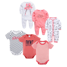 цена на Baby Clothing 2019 New Newborn Baby Jumpsuits Outfits Baby Boy Girl Romper Clothes Long Sleeve Infant Girl Rompers roupa de bebe